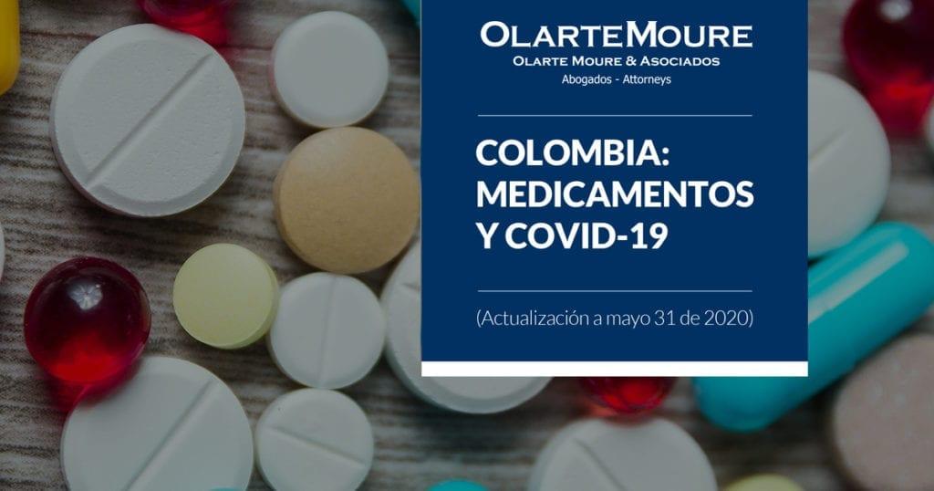COLOMBIA: MEDICAMENTOS Y COVID-19