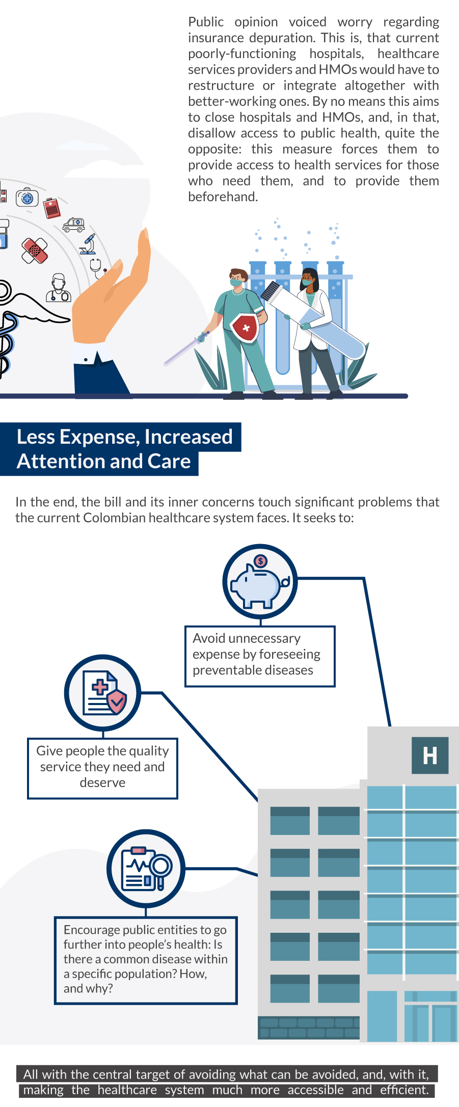 explanation on the colombian healthcare bill
