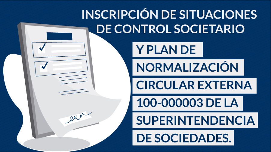 inscripción de situaciones de control societario