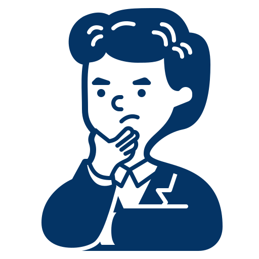 man thinking icon